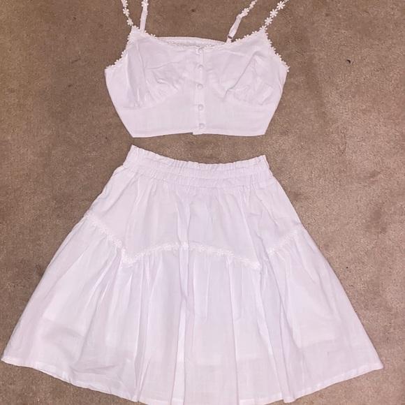 Flowy skirt set